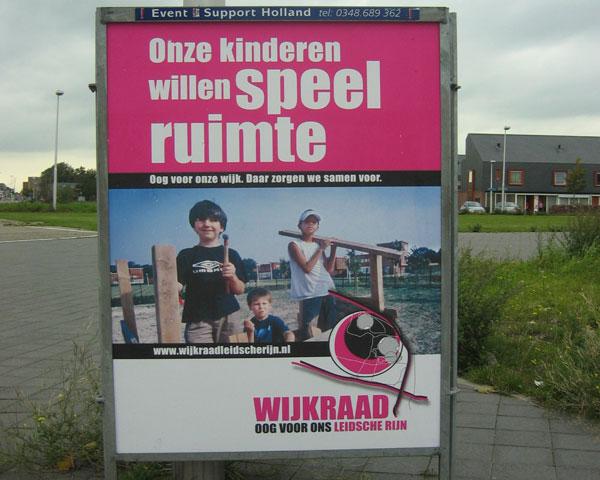 Oog en mond van 30.000 bewoners in een nieuwe Vinex. Wijkraad presenteert zichzelf.