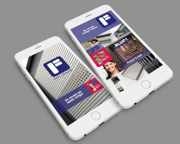 Mobiel website Floor Rolluiken