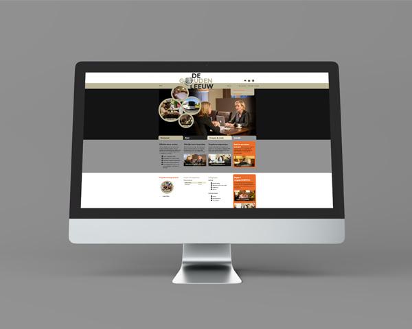 Website De Gouden Leeuw