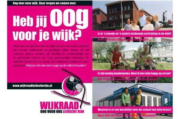Advertentie Wijkraad