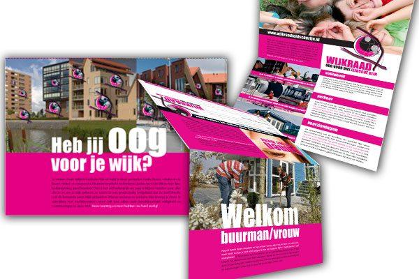 leaflets Wijkraad