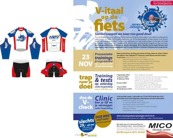 Vitaal op de fiets Stichting Blauw