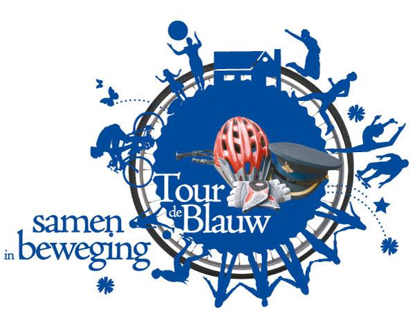 Tour de blauw logo