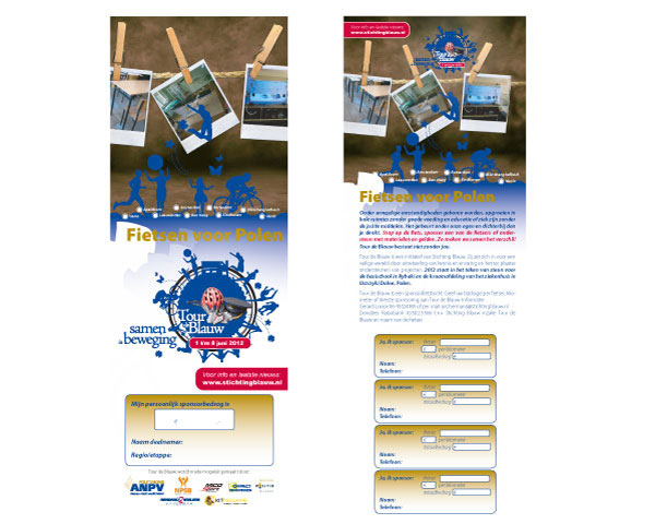 Deelnemerskaart Stichting blauw