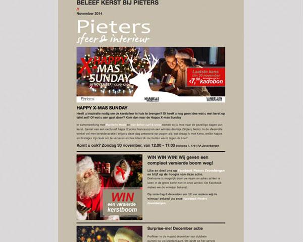 Nieuwsbrief Pieters Sfeer en interieur